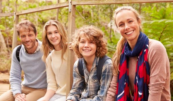 משפחה עם נער ונערה: התחסנו נגד פפילומה